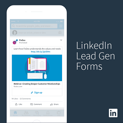 linkedin lead generation forms