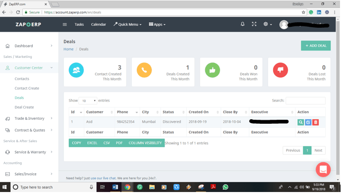 How to Use ZapERP CRM?