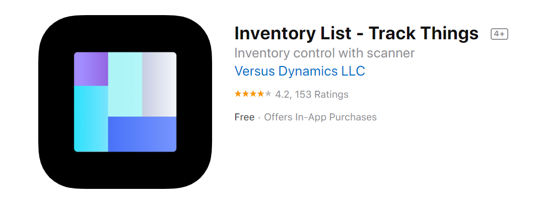 inventory list home inventory app