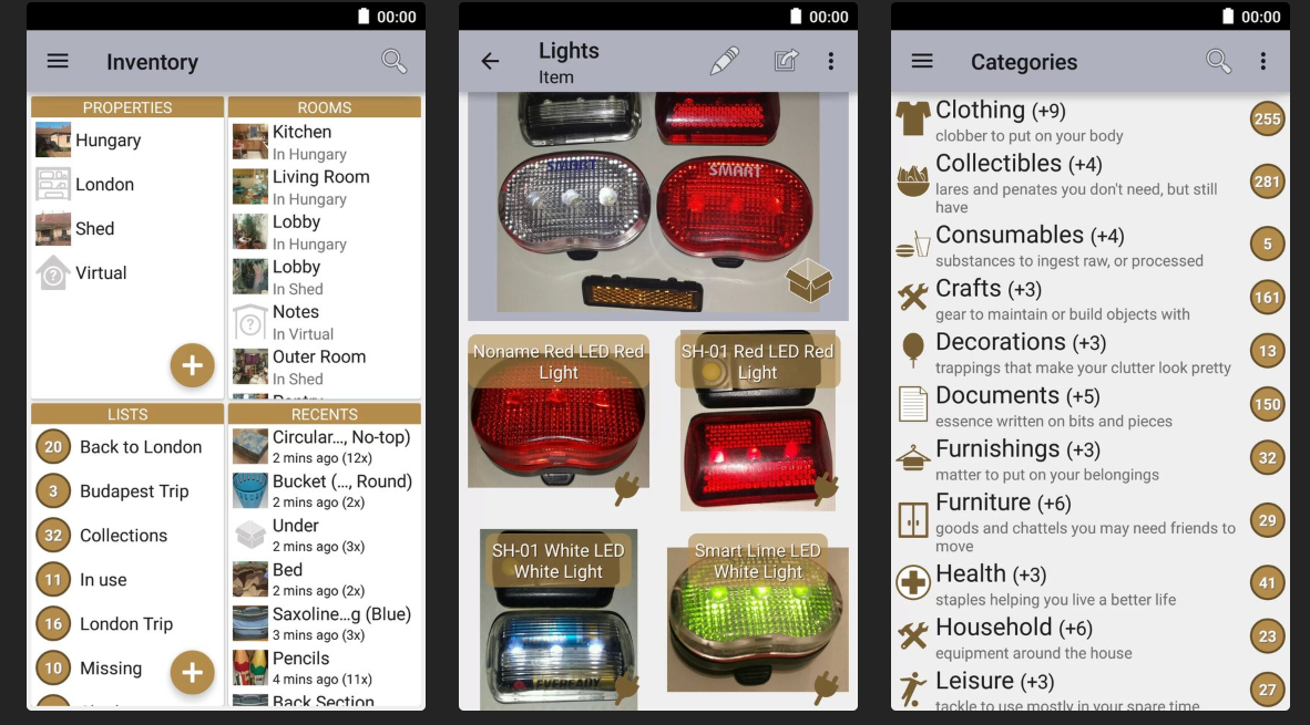 magic home inventory app