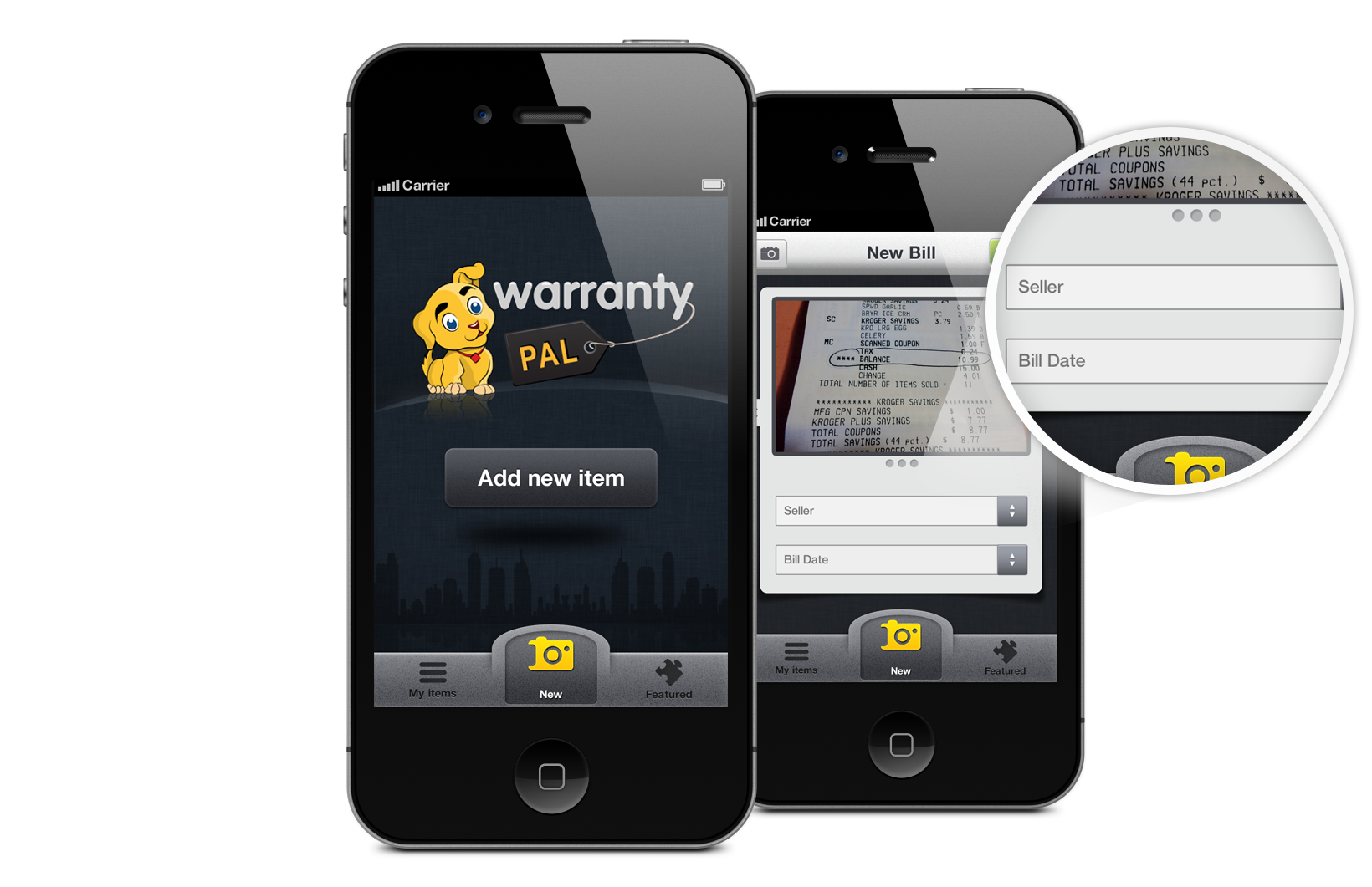 warranty pal home inventory software