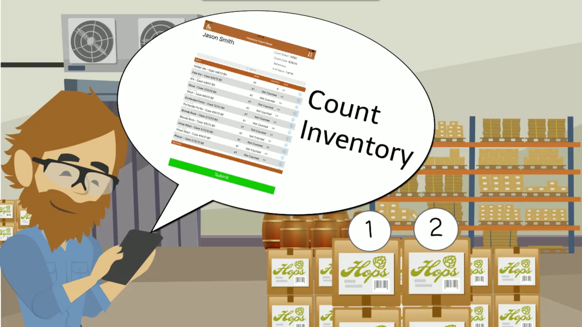 5 differences between physical count and cycle count inventory