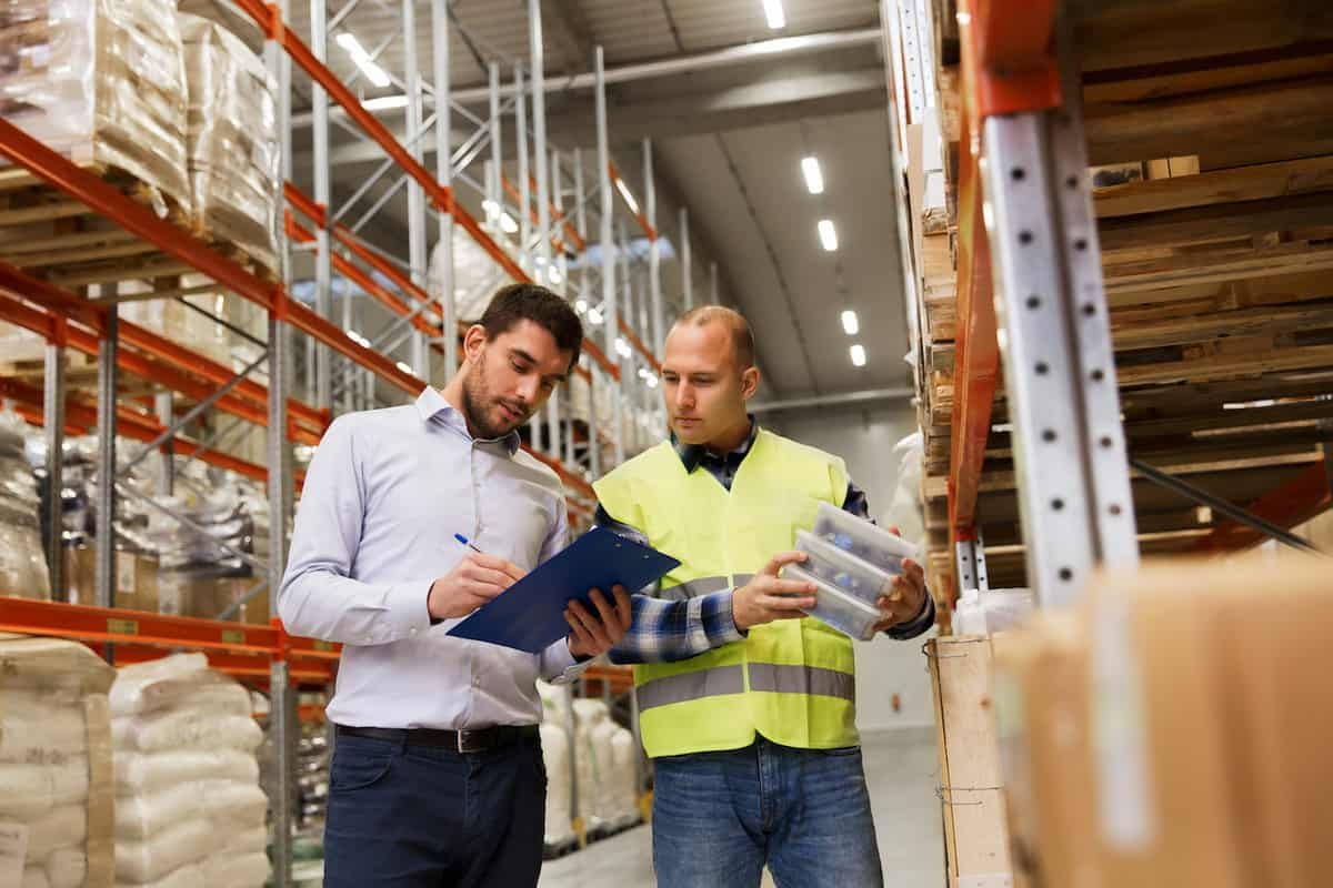 Inventory Review by Auditors