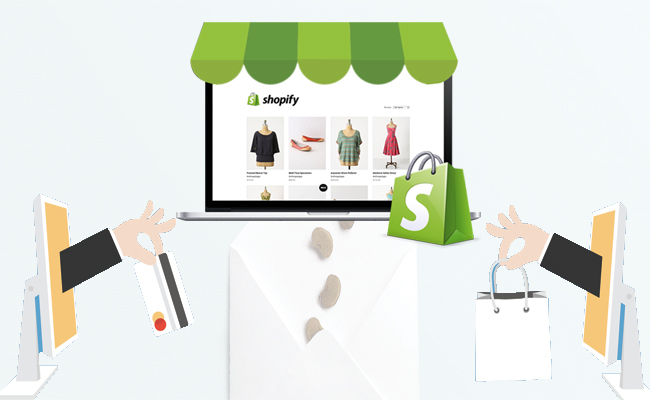 use Shopify to develop eCommerce websites