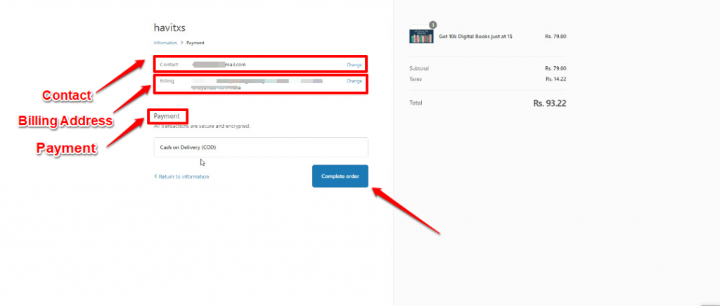 Screenshot on how to sell digital products using SocialBot?
