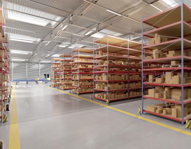 """Warehouse goods stock Premium Photo"""